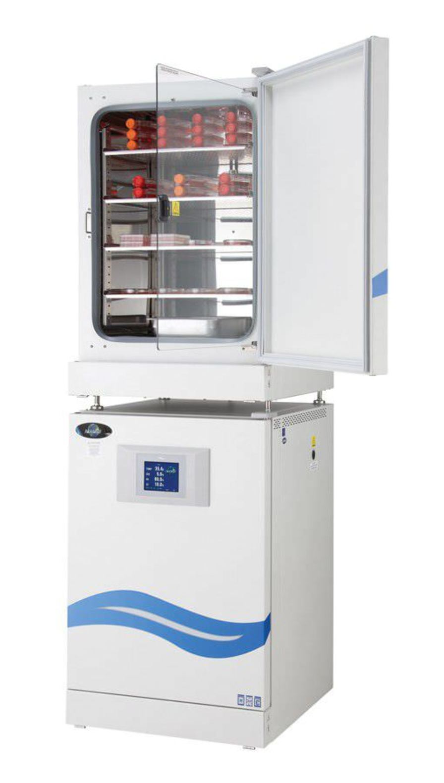 CO2 laboratory incubator / stainless steel 200 L | In-VitroCell ES NU-5841 Nuaire