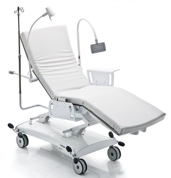 Electrical stretcher chair / height-adjustable / 4-section Q NOVAK M