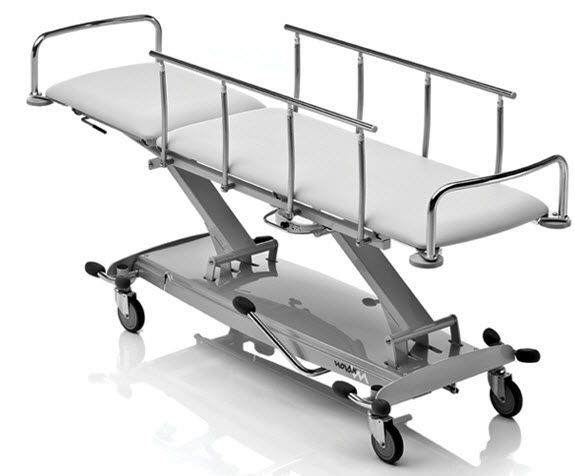 Emergency stretcher trolley / transport / recovery / mechanical SL NOVAK M