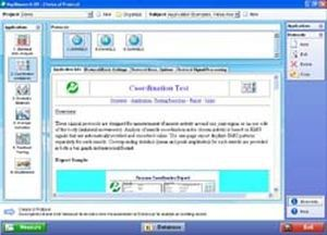Medical software / electrophysiology MyoResearch XP Clinical Application Protocols NORAXON