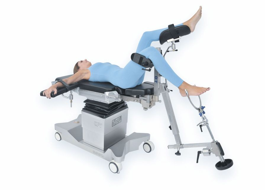 Orthopedic operating table / electro-hydraulic / on casters OPT ASSO ORTHO-TRAUMA OPT SurgiSystems Srl