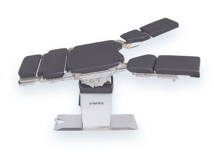 Universal operating table / electromechanical / on casters / with interchangeable table tops OPT VANTO OPT SurgiSystems Srl