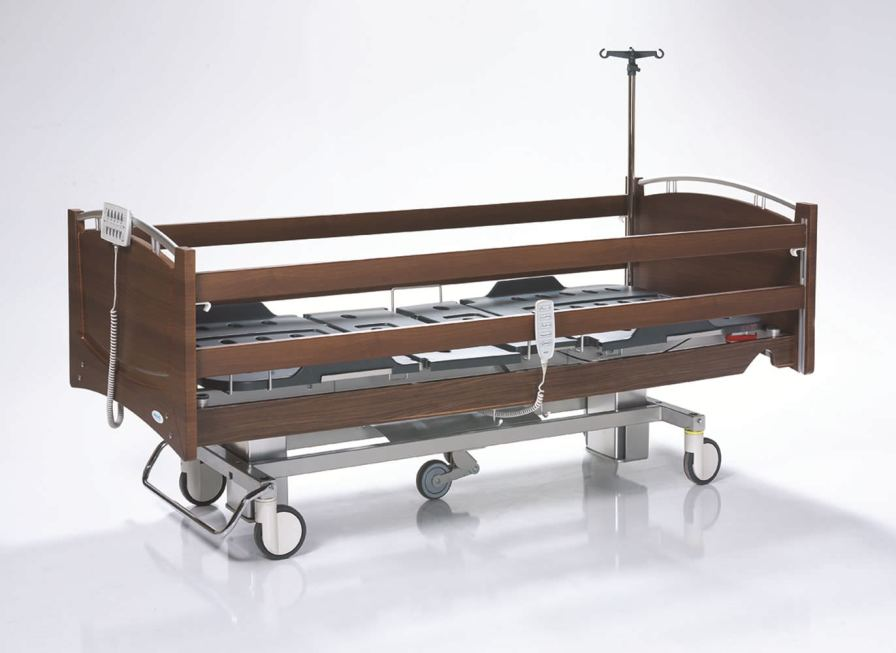 Intensive care bed / electrical / height-adjustable / 4 sections NITRO HB 5310 Nitrocare