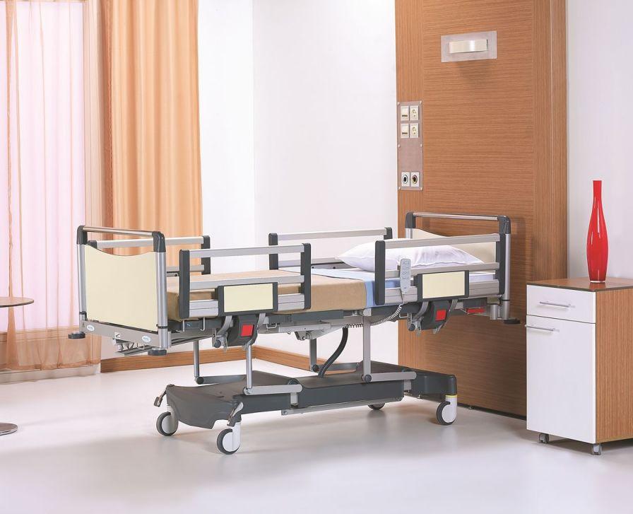 Electrical bed / reverse Trendelenburg / Trendelenburg / height-adjustable NITRO HB 3130 Nitrocare