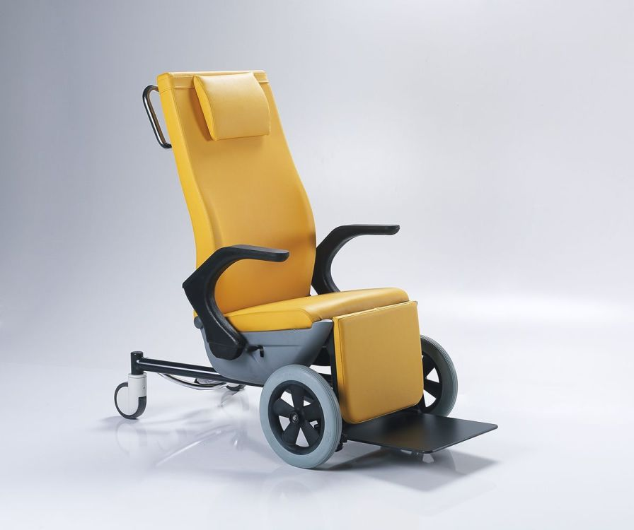 Reclining medical sleeper chair / on casters / manual NTS X6 Nitrocare