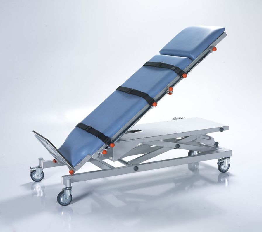 Emergency stretcher trolley / height-adjustable / electrical / 2-section NTCR SDY11 Nitrocare