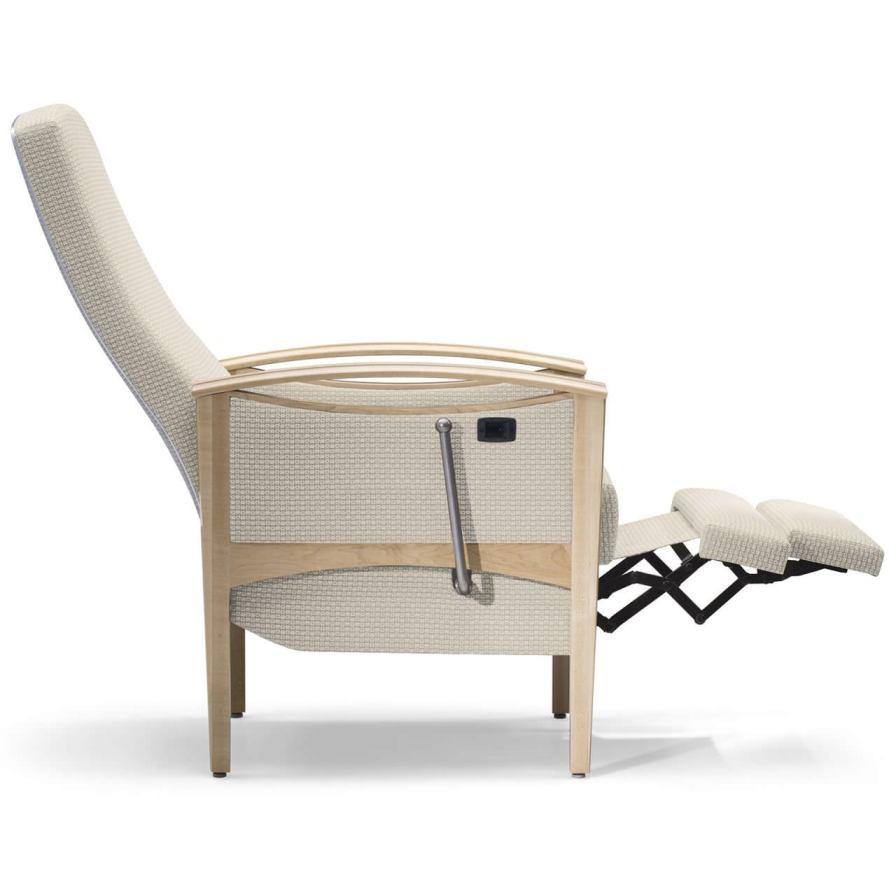 Reclining medical sleeper chair / manual Cities Uptown CompactComfort® Nemschoff