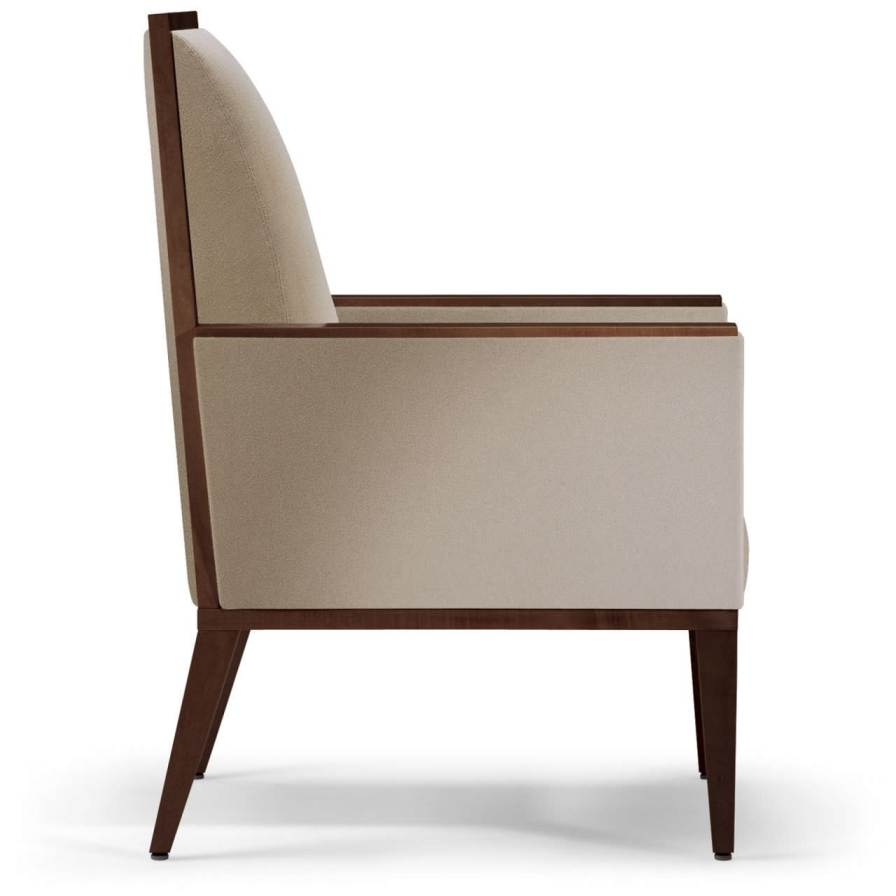 Chair with armrests Brooklyn Nemschoff