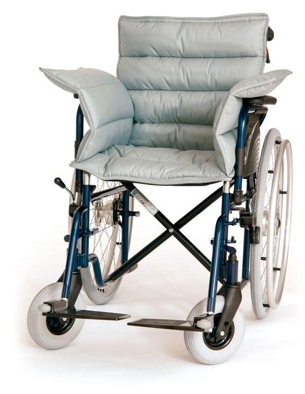 Wheelchair cushion / anti-decubitus / hollow silicone fiber Novacare
