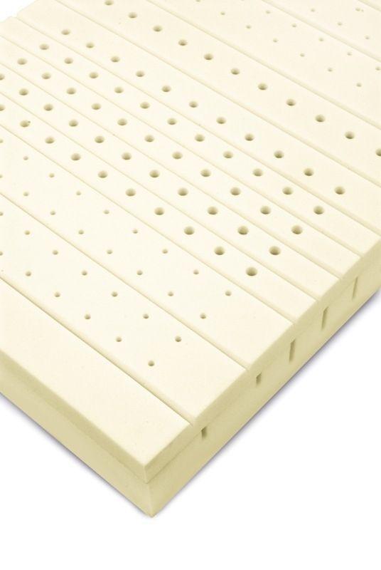 Hospital bed mattress / anti-decubitus / visco-elastic / foam elatex® V Novacare