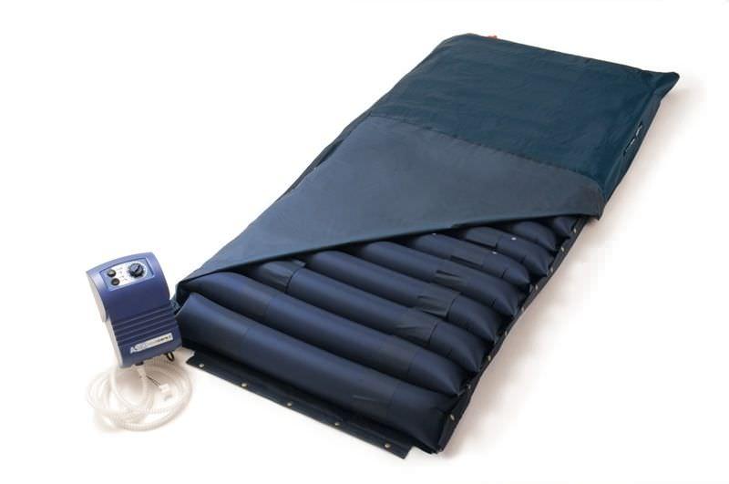 Hospital bed mattress / anti-decubitus / foam / alternating pressure ASX basic Novacare