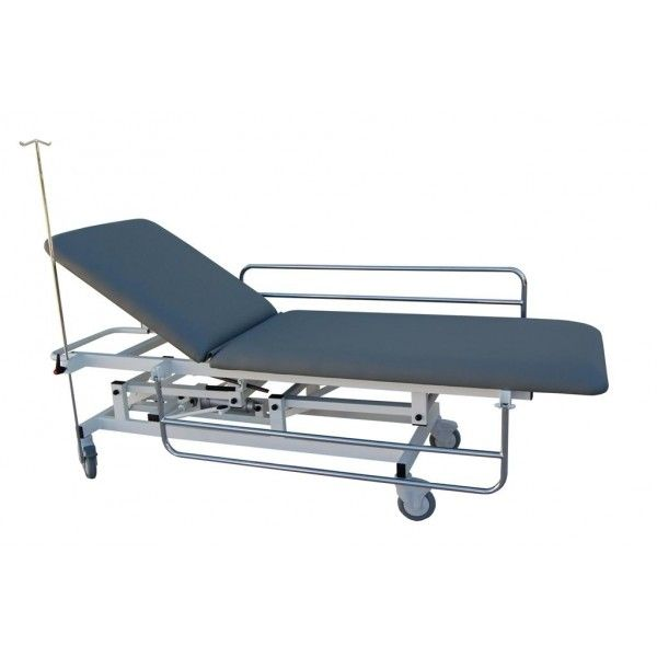 Transport stretcher trolley / height-adjustable / hydraulic / 2-section M045-B Mobiclinic