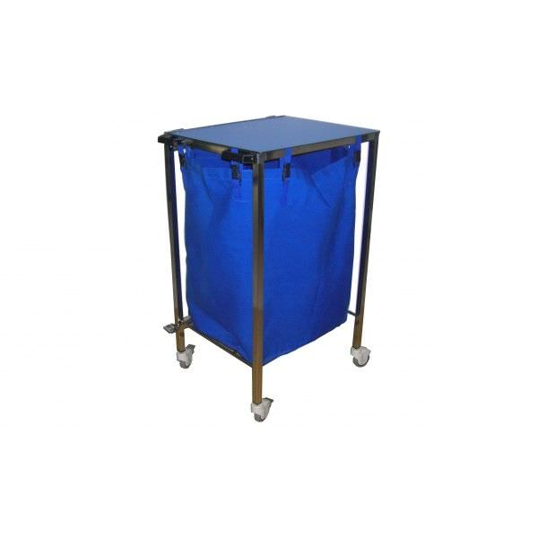 Linen trolley / stainless steel Mobiclinic