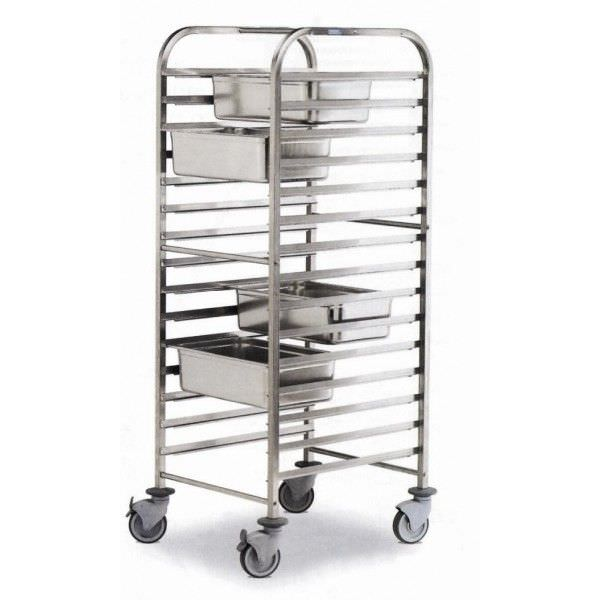 Transport trolley / for sterilization container / open-structure Mobiclinic