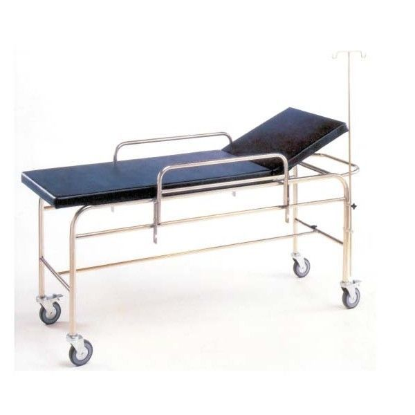 Transport stretcher trolley / height-adjustable / mechanical / 2-section M042 Mobiclinic