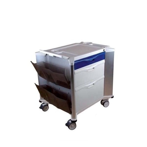 """Multi-function trolley / with drawer / 1-tray MEDTROLLEY """"BASIC"""" Mobiclinic"""
