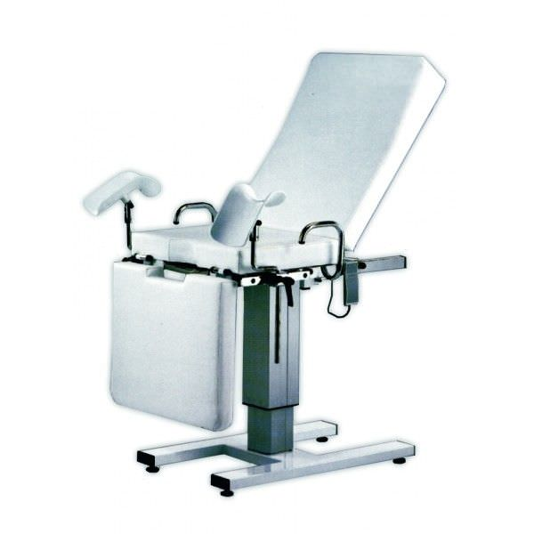 Gynecological examination table / fixed / 3-section M157E Mobiclinic