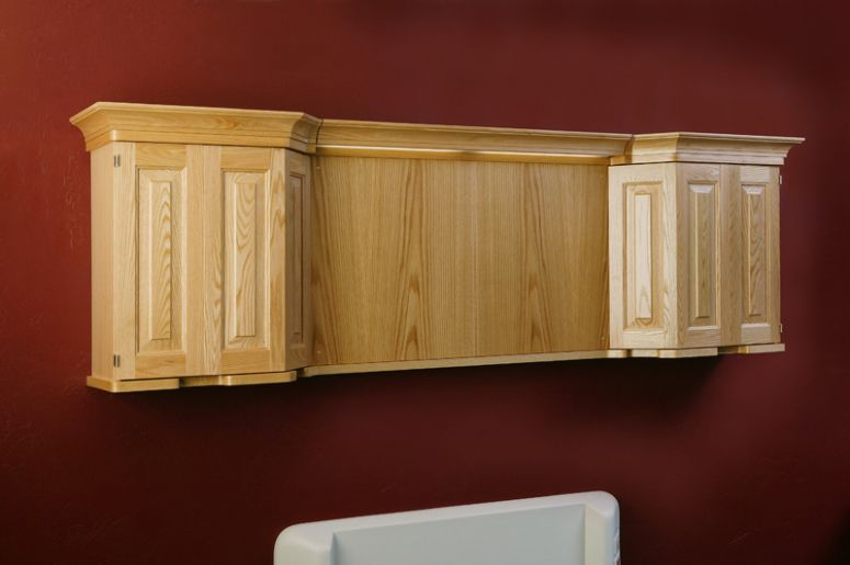 Wall-mount supply unit / with plug sockets Ambiance™ Modular Services Company