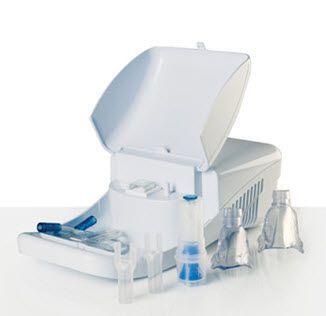 Pneumatic nebulizer / with compressor 0.28 - 0.54 mL / mn | Meganeb Plus Norditalia Elettromedicali