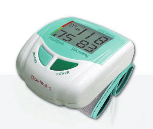 Automatic blood pressure monitor / electronic / wrist BP-500 Norditalia Elettromedicali