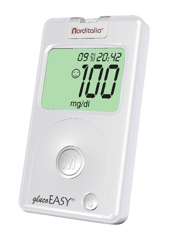 Blood glucose meter 20 - 600 mg / dL | glucoEASY Norditalia Elettromedicali