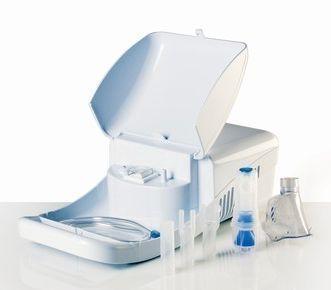 Pneumatic nebulizer / with compressor 0.22 - 0.37 mL / mn   Meganeb Norditalia Elettromedicali