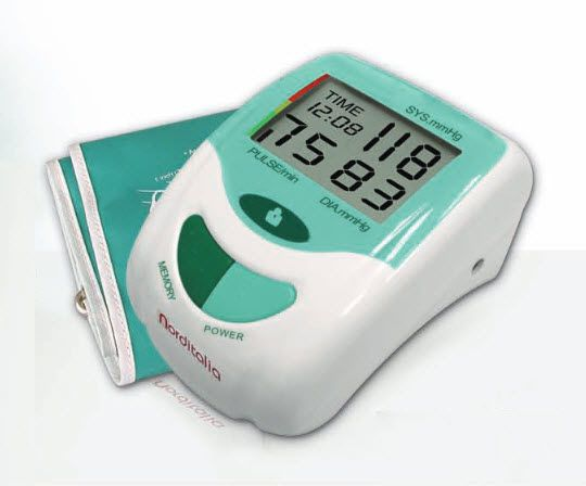 Automatic blood pressure monitor / electronic / arm BP-1000 Norditalia Elettromedicali