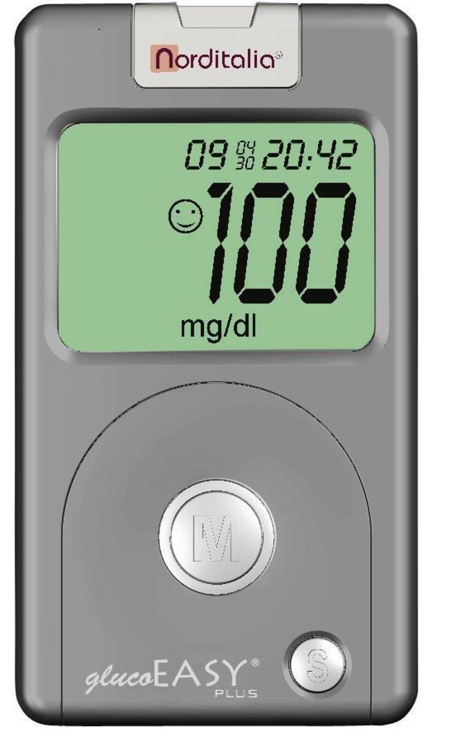 Blood glucose meter 20 - 600 mg / dL | glucoEASY Plus Norditalia Elettromedicali