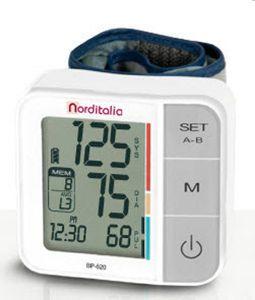 Automatic blood pressure monitor / electronic / wrist BP-520 Norditalia Elettromedicali