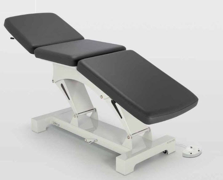 Electrical examination table / height-adjustable / 3-section VERA E3 NAMROL