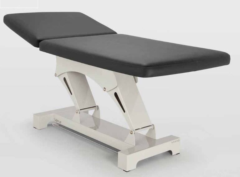 Electric Bobath table / on casters / height-adjustable / 2 sections NAMROL