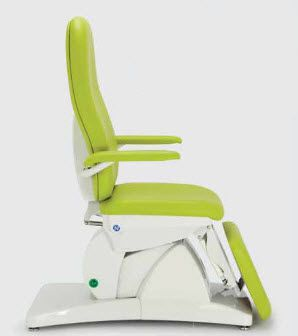 Medical examination chair / electrical / height-adjustable / 3-section PRISMA NAMROL