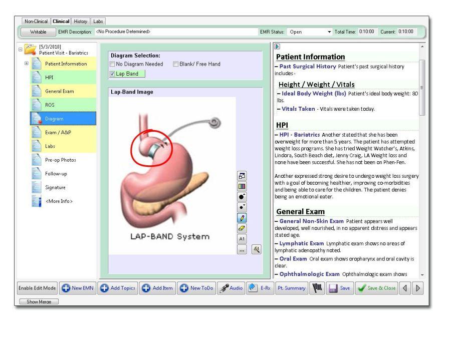 Management software / medical / for bariatrics service Nextech