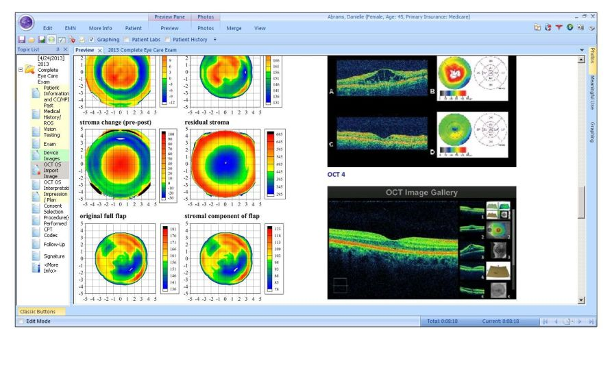 Management software / ophthalmology / medical Nextech