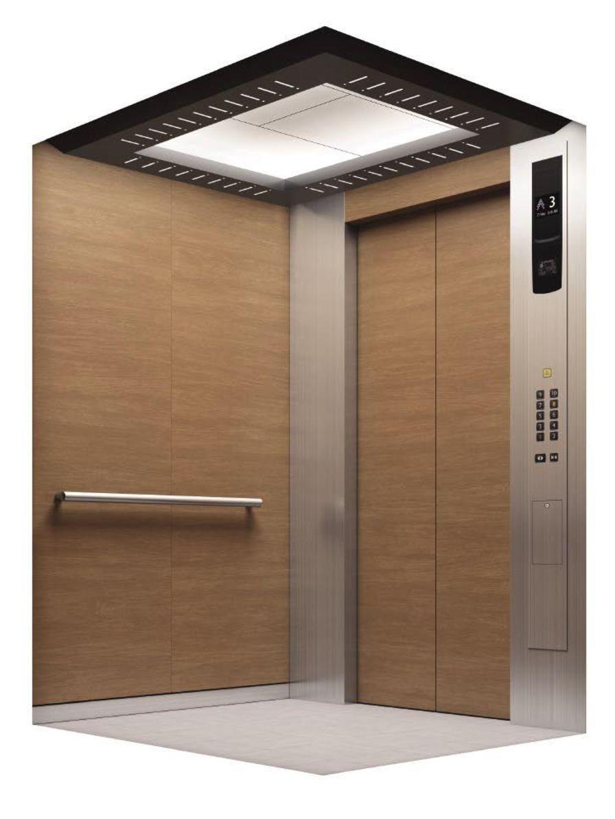 Bed elevator NEXIEZ-MRL Mitsubishi Electric