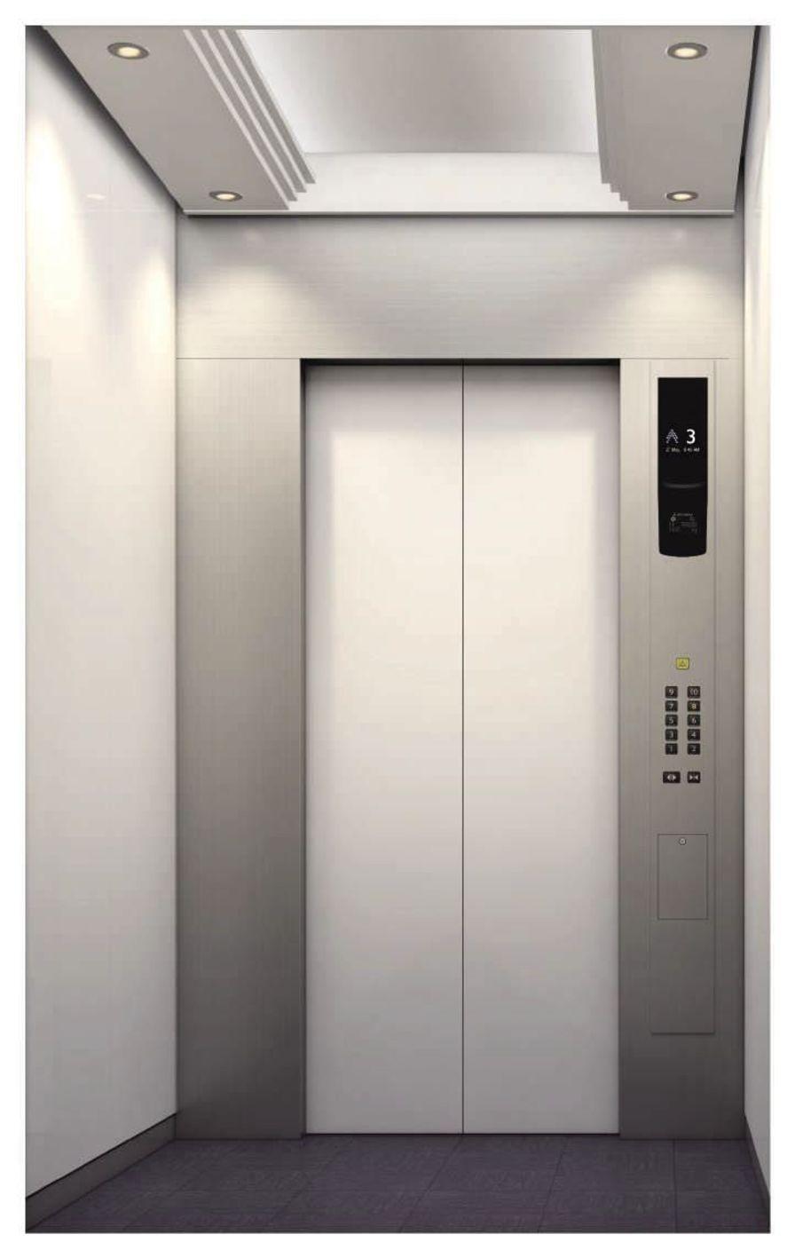 Bed elevator NEXIEZ-MR Mitsubishi Electric