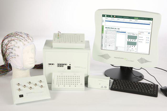 128-channel electroencephalograph NEURO PRAX® EEG neuroConn