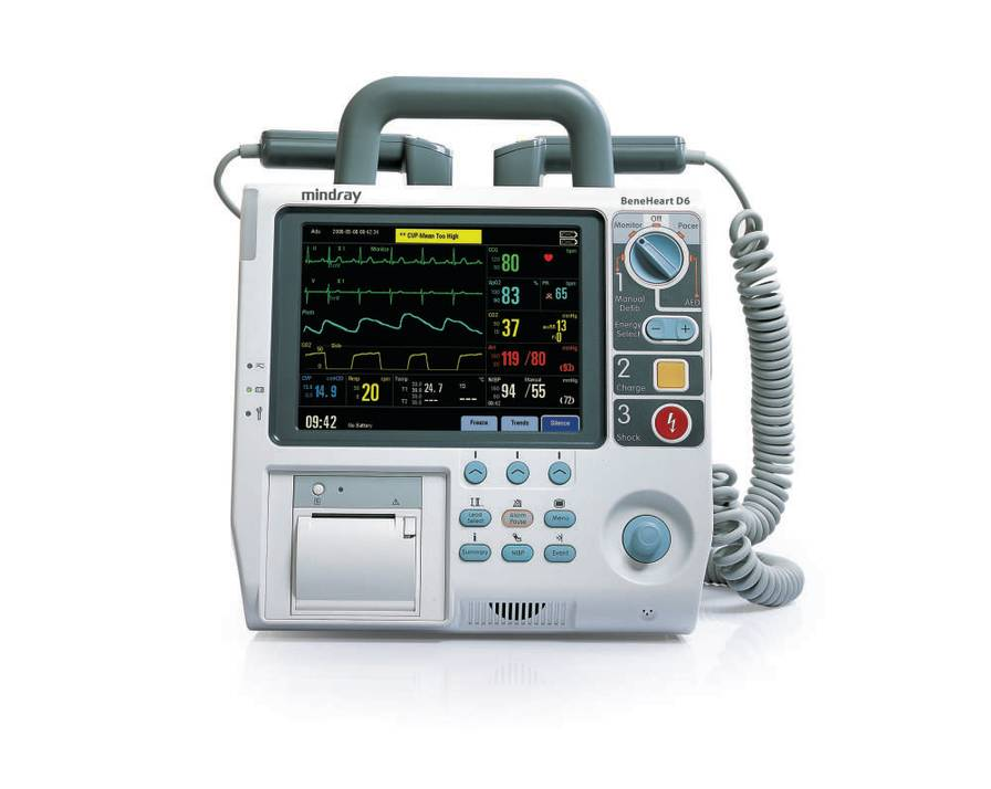 BeneHeart D6 Defibrillator