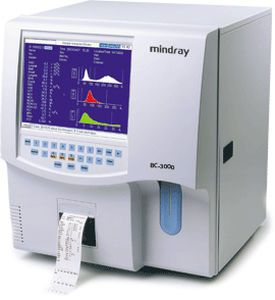 Automatic hematology analyzer / 19-parameter BC-3000Plus Mindray