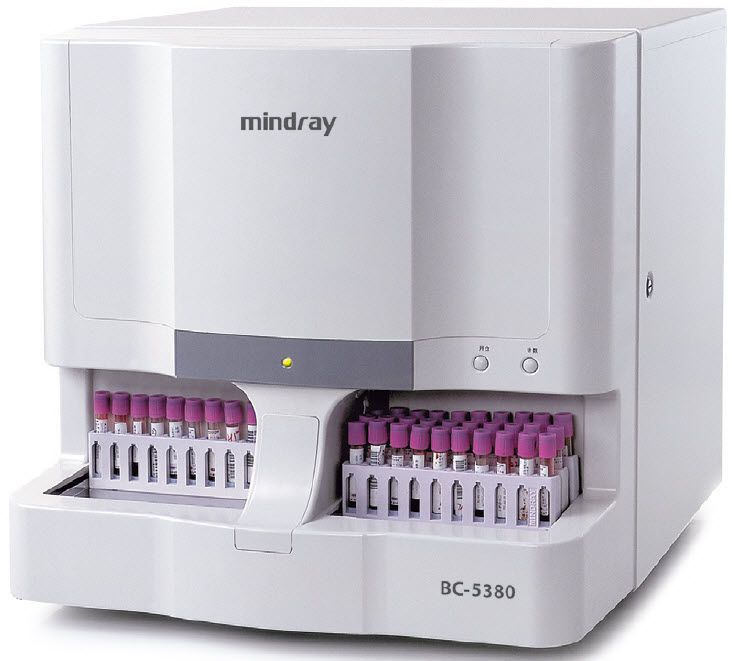 Automatic hematology analyzer BC-5380 Mindray
