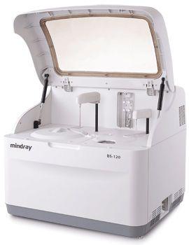 Automatic biochemistry analyzer / random access 100 - 330 tests/h | BS-120 Mindray