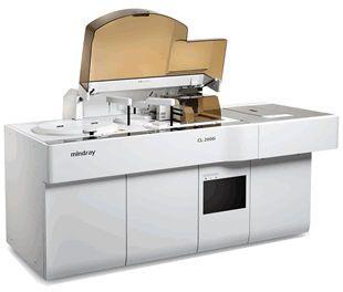 Automatic immunoassay analyzer / chemiluminescence max. 240 tests/h | CL-2000i Mindray