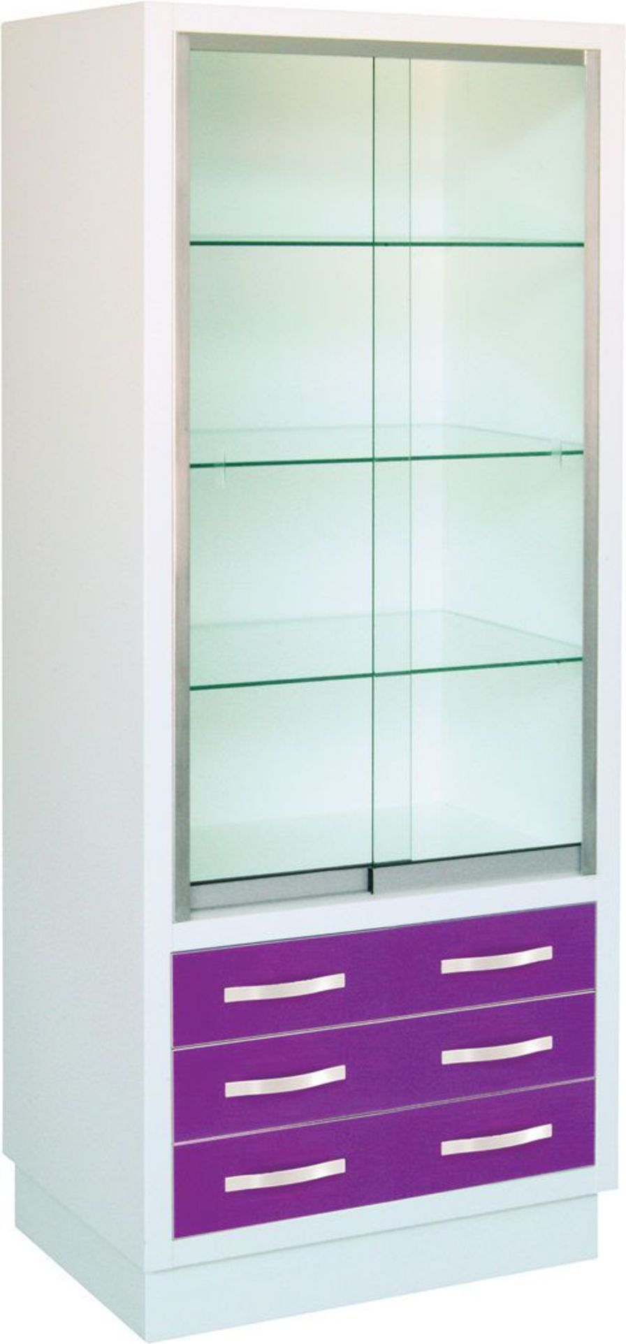 Medical instrument cabinet with drawer 24200 Inmoclinc