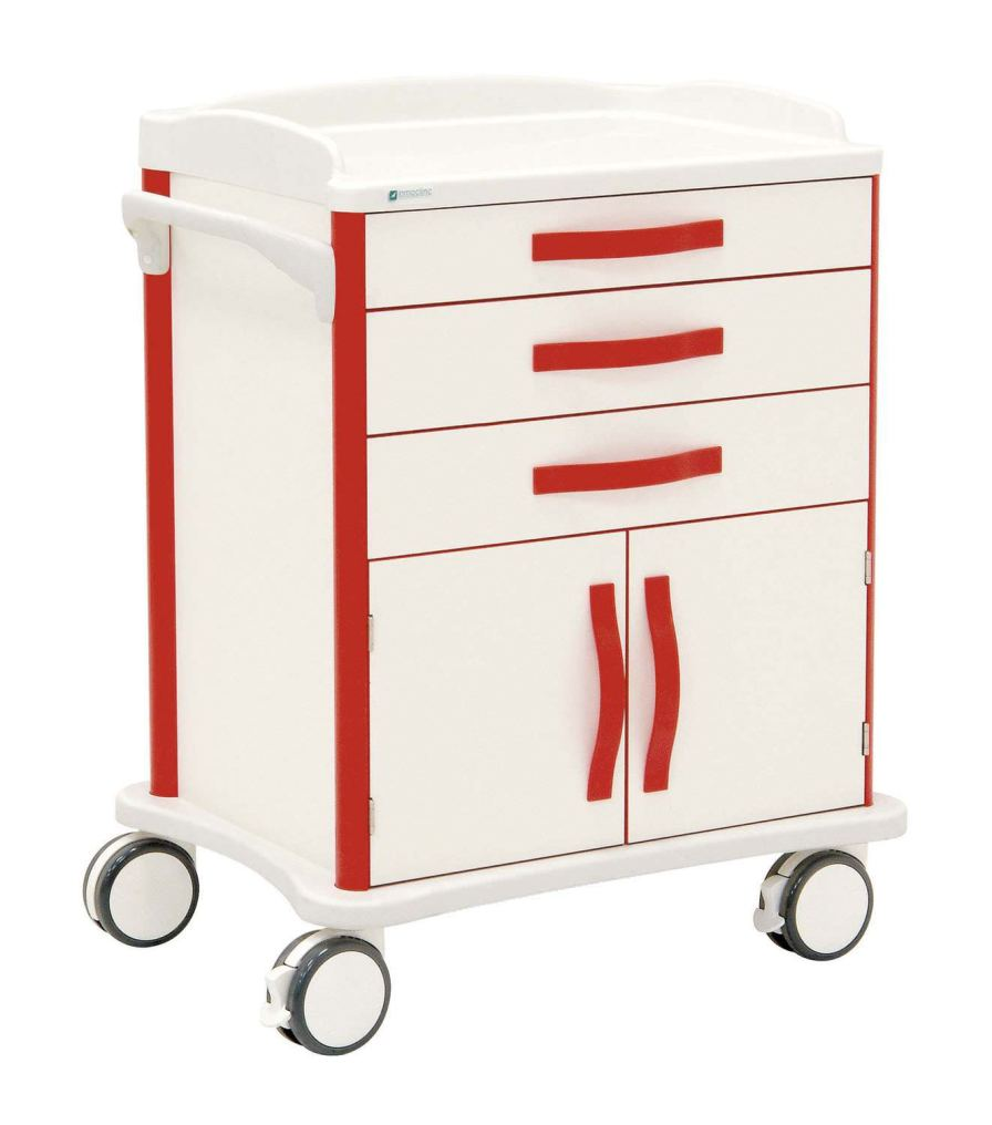 Multi-function trolley / with door / with drawer 50055 Inmoclinc