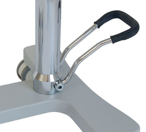 Height-adjustable Mayo table / stainless steel 14550 Inmoclinc