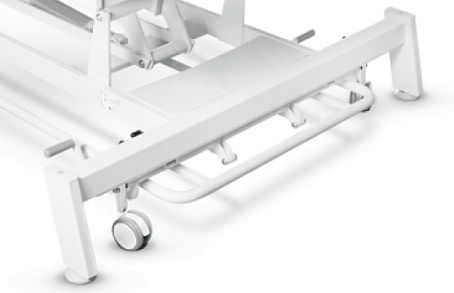 Electric Bobath table / height-adjustable / on casters / 2 sections TERAPEUTA PRESTIGE B-S2 Meden-Inmed