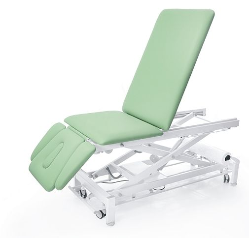 Electrical massage table / on casters / height-adjustable / 3 sections GALAXY JUPITER S5 Meden-Inmed