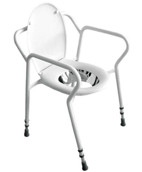 Commode chair / height-adjustable URK-1 Meden-Inmed