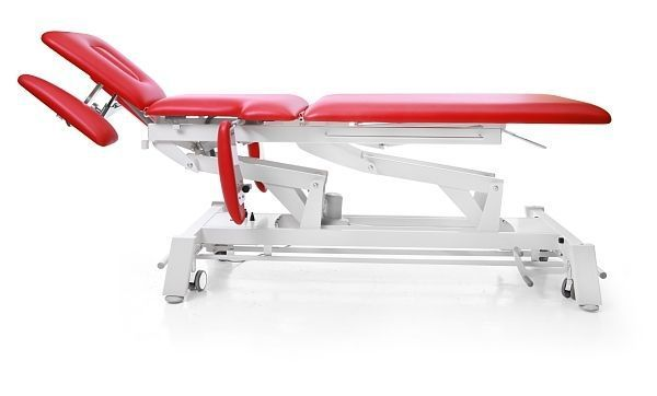 Electrical massage table / on casters / height-adjustable / 3 sections TERAPEUTA PRESTIGE M-S7 Meden-Inmed