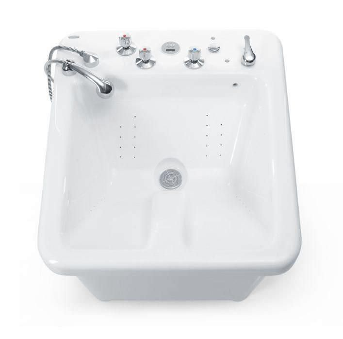 Lower limb water massage bathtub WKS Meden-Inmed